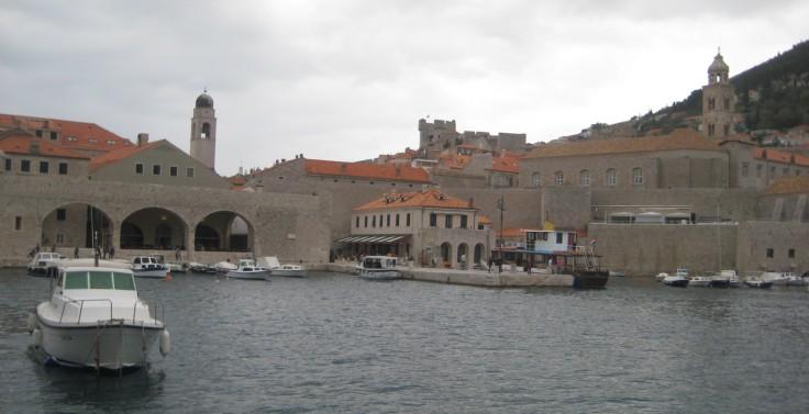 Old port of Dubrovnik