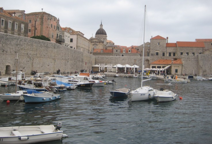 Old port of Dubrovnik