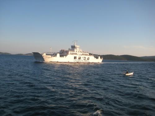 Ferry Korčula-Orebić (Pelješac peninsula)